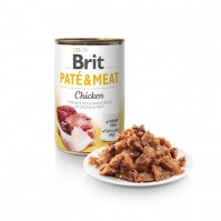 Brit Care Chicken Pate & Meat konservai